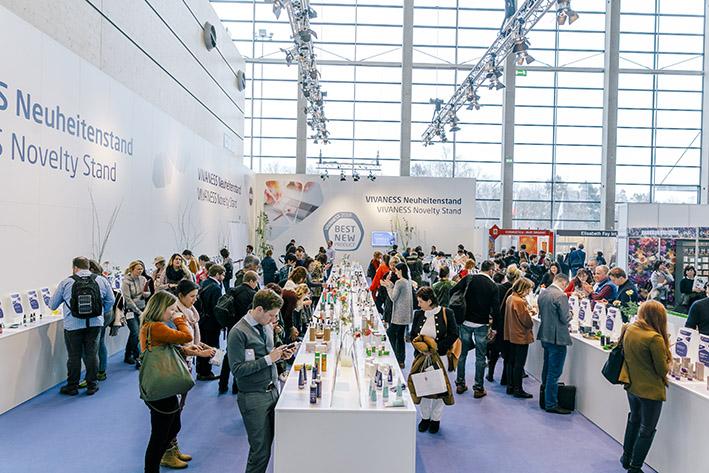 Der Ausstellungsbereich für innovative Produkte